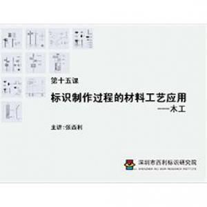 标识制作工艺师培训课程 第十五课 标识制作过程的材料工艺应用——木工